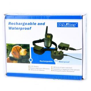 PetTrainer PET998DR дрессировочный ошейник для 1 (2) собак аккум.
