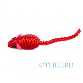 Игрушка для кошек - мышка из шнурка