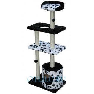 Комплекс с игрушками для кошек 4 этажа